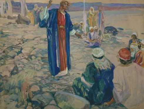 Наставление апостолам Сергей Васильевич Беклемишев
